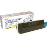 OKI C5100, C5200, C5300, C5400 žlutý