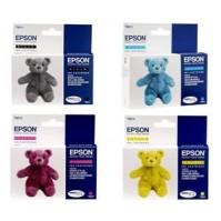 Sada Epson T0611 + T0612 + T0613 + T0614