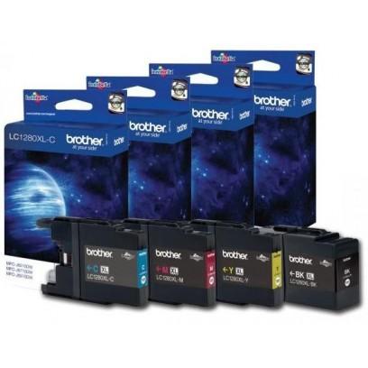 Sada Brother LC-1280XL-BK, LC-1280XL-C,LC-1280XL-M,LC-1280XL-Y