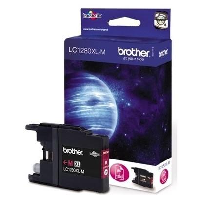 Cartridge Brother LC-1280XL-M purpurová