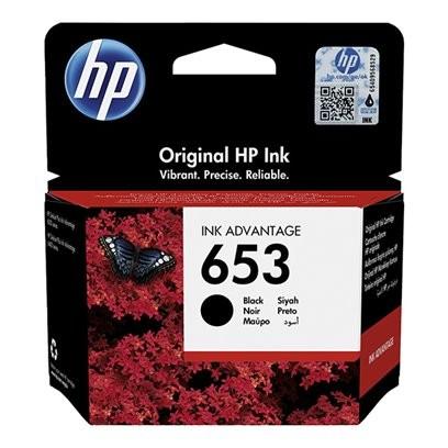 HP 653 černá, HP 3YM75AE