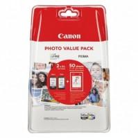 Sada Canon PG-545XL černá + CL-546XL barevná