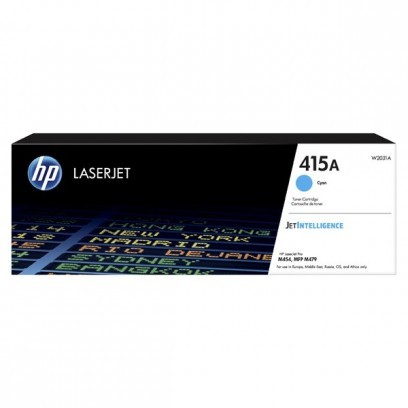 Toner HP 415A, HP W2031A modrý