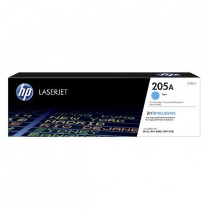 Toner HP 205A, HP CF531A modrý