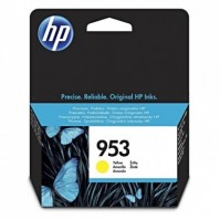 HP 953, HP F6U14AE žlutá