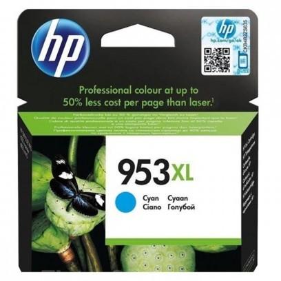 HP 953XL, HP F6U16AE modrá