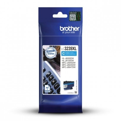 Brother LC-3239XLC modrá