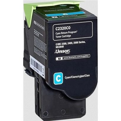 Lexmark C2320C0 modrý (1000 stran)