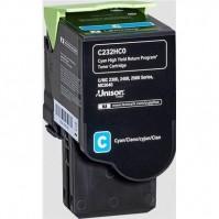 Lexmark C232HC0 modrý (2300 stran)