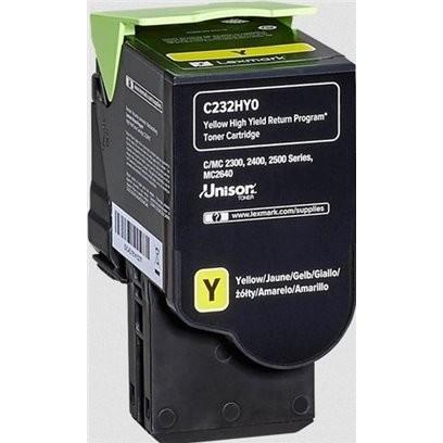 Lexmark C232HY0 žlutý (2300 stran)