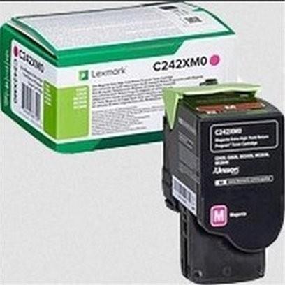 Lexmark C242XM0 červený (3500 stran)