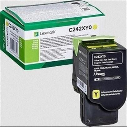 Lexmark C242XY0 žlutý (3500 stran)