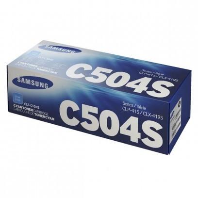 Toner Samsung CLT-C504S modrá