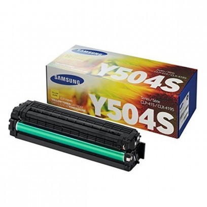 Toner Samsung CLT-Y504S žlutá