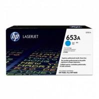 Toner HP 653A, HP CF321A modrý