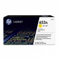 Toner HP 653A, HP CF322A žlutý