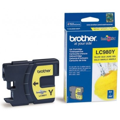 Brother LC-980Y žlutá