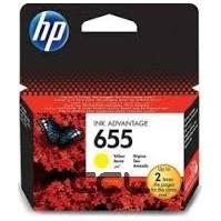 HP 655, HP CZ112AE žlutá