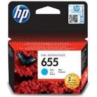 HP 655, HP CZ110AE azurová