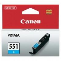 Canon CLI-551C azurová