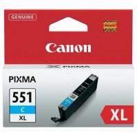 Canon CLI-551C XL azurová