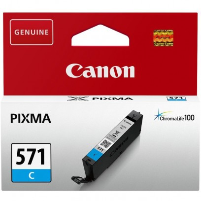 Canon CLI-571C azurová