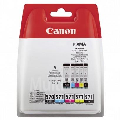 Sada Canon PGI570, CLI-571 C,M,Y,BK