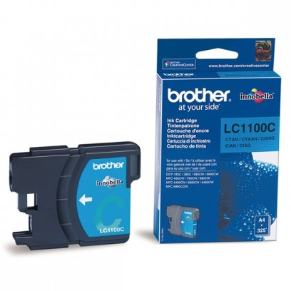 Brother LC-1100C azurová