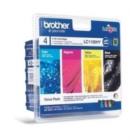 Sada 4ks Brother LC-1100HYBK,C,M,Y