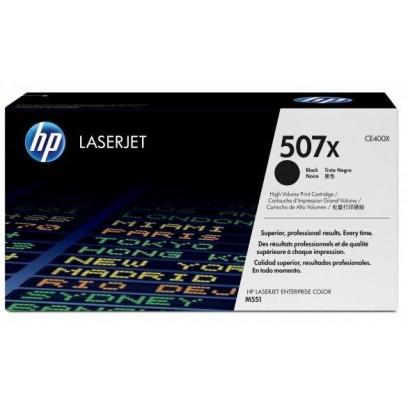 Toner HP CE400X, HP 507X černý 11000 stran