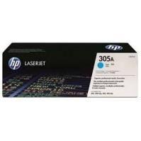 Toner HP CE411A, HP 305A azurový 2600stran