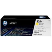 Toner HP CE412A, HP 305A žlutý 2600stran