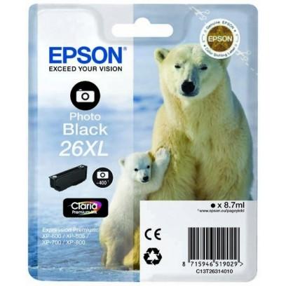 Epson 26XL, (T2631) černá foto 8,7ml