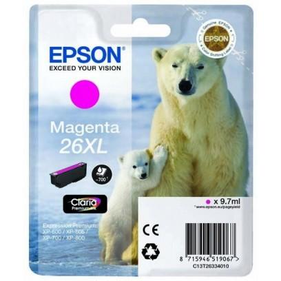 Epson 26XL, (T2633) purpurová 9,7ml