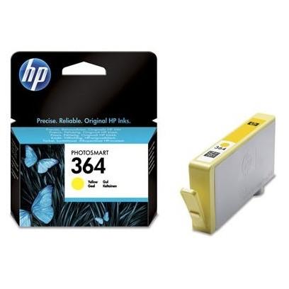 HP 364, HP CB320EE žlutá (300 stran)