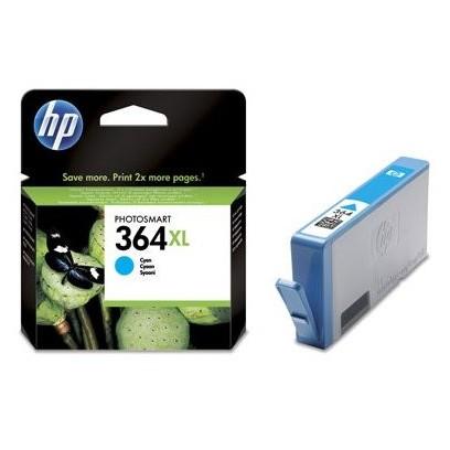 HP 364XL, HP CB323EE azurová (750 stran)