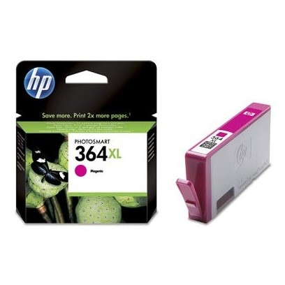 HP 364XL, HP CB324EE purpurová (750 stran)