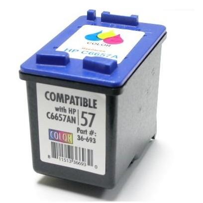 Kompatibilní cartridge HP 57 (HP C6657A) barevná